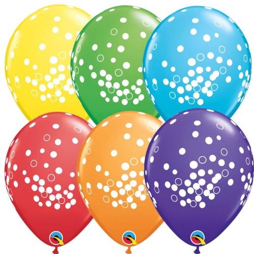 Balon Confetti Dots