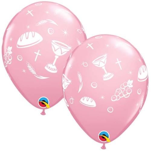 Balon Communion Elements - pink