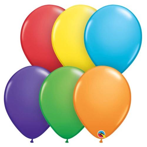 Baloni 13 cm - Rainbow ass.
