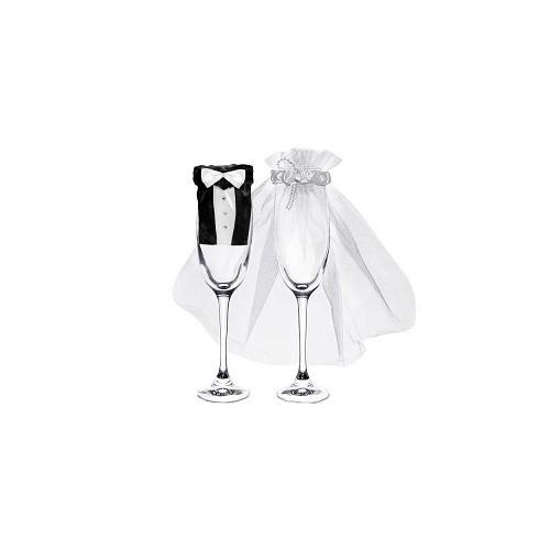 Vjenčani komplet za čašice