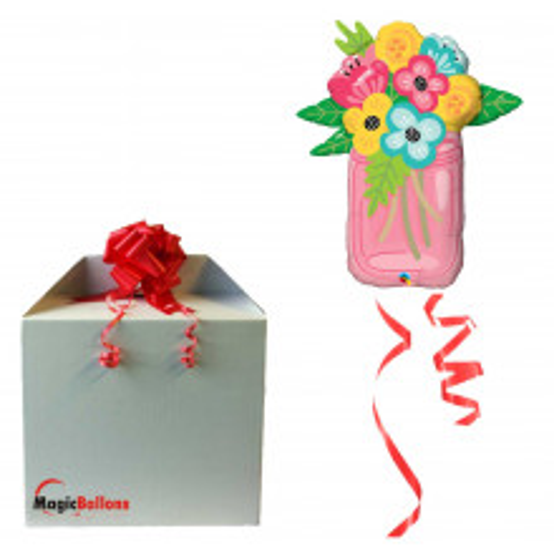 Mason Jar Bouquet - folija balon u paketu