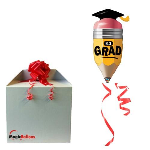 No. 1 Grad Pencil -  folija balon u paketu