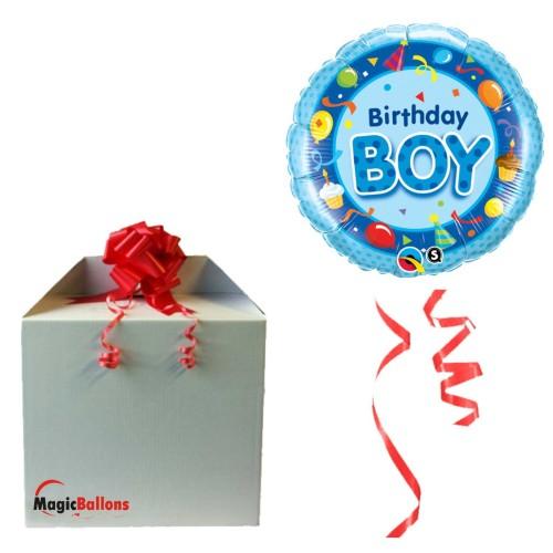 Birthday Boy Blue napihnjen