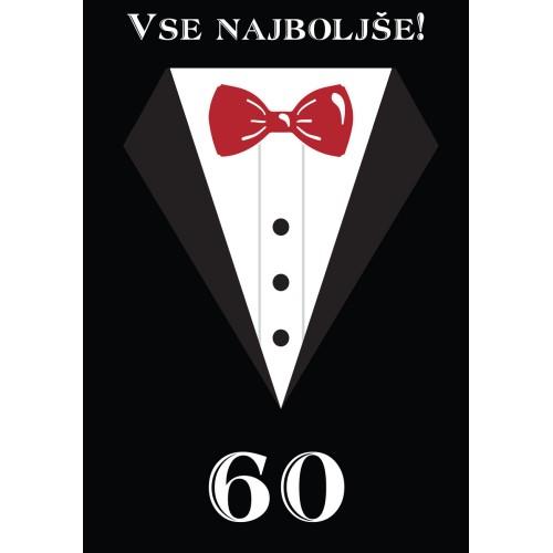 Čestitka vse najboljše 60
