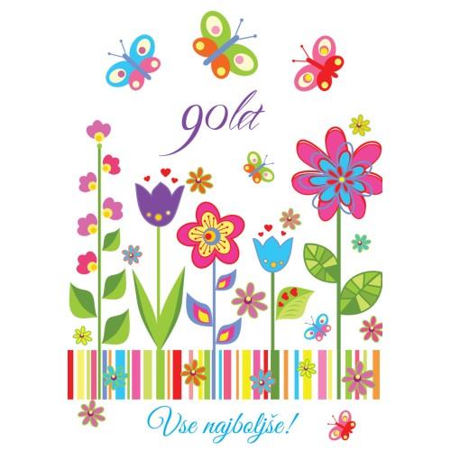 Čestitka vse najboljše 90