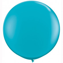 Balon Tropical Teal 90 cm - 2 kom