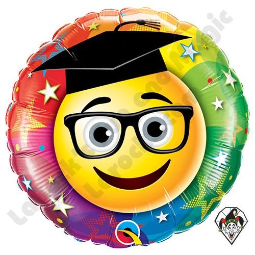 Smiley Graduate  - folija balon