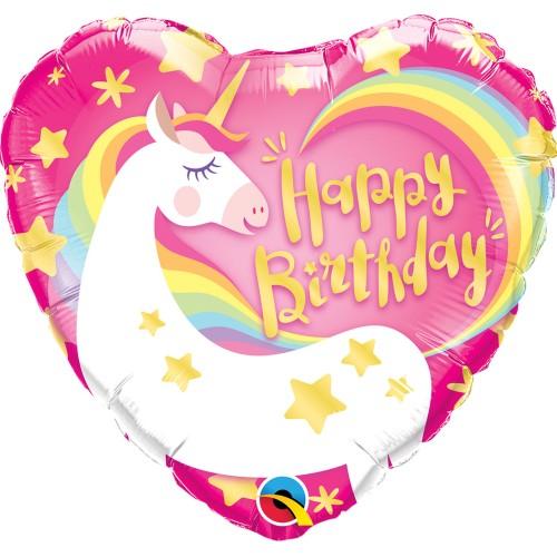 Bday magical unicorn - folija balon