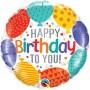 Happy Bday to you balloons - folija balon