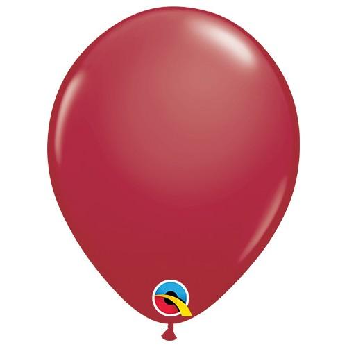 Ballons 28 cm - maroon