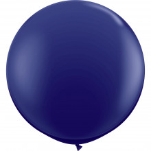 Balloon - navy 90 cm - 2 pcs