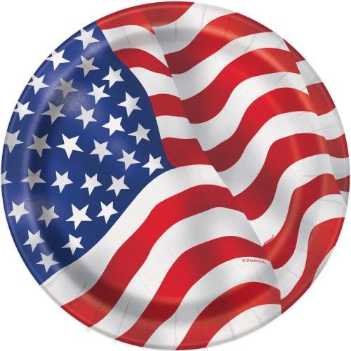 USA tanjur 18 cm