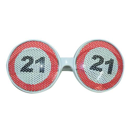 Prometni znak 21 naočala