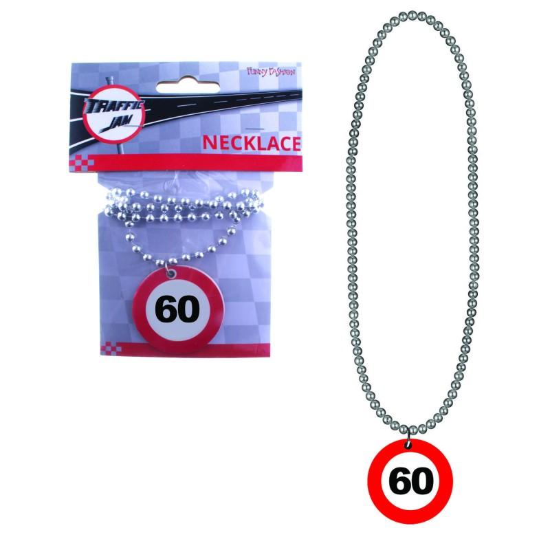 Prometni znak ogrlica 60