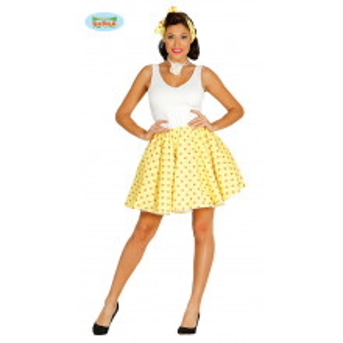 Pin up kostim - žuta
