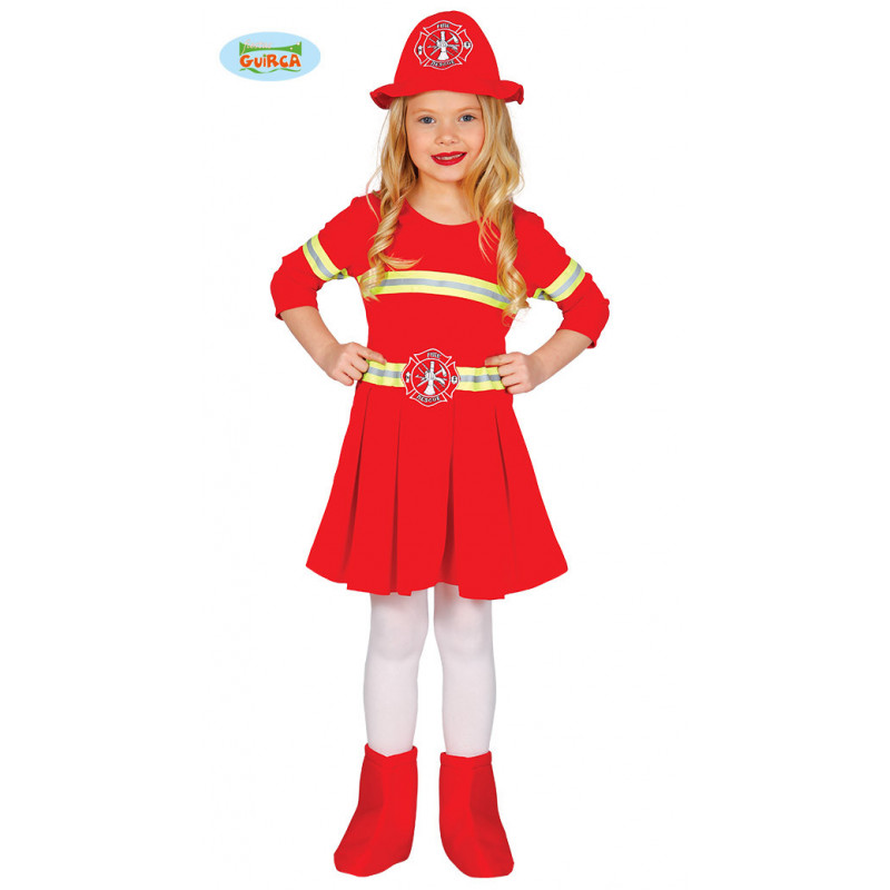 Djevojka vatrogasac kostim