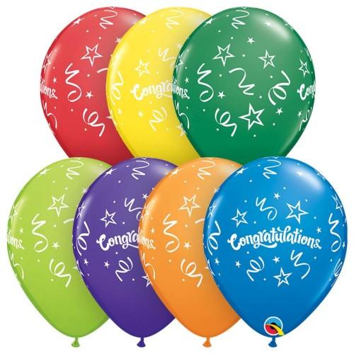 Balon Congratulations Streamers