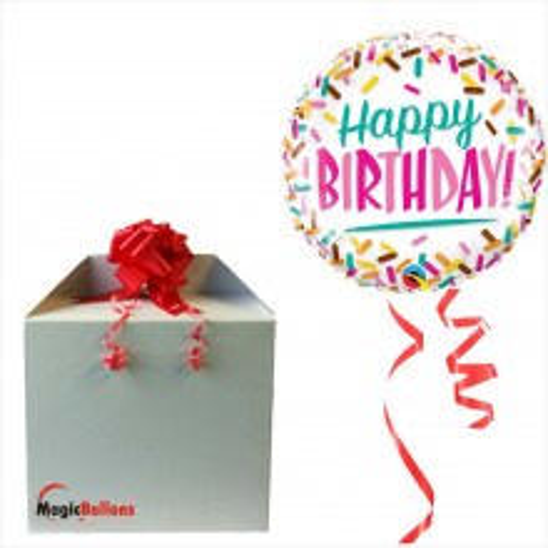 Bday Sprinkles  - folija balon u paketu