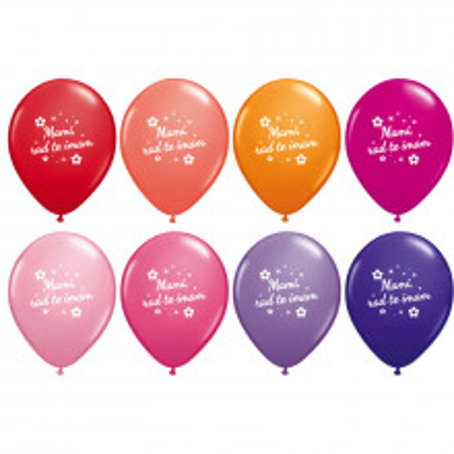 Balon Mami, rad te imam