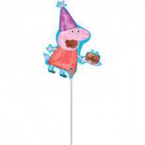 Peppa Pig - folija balon na štapiću