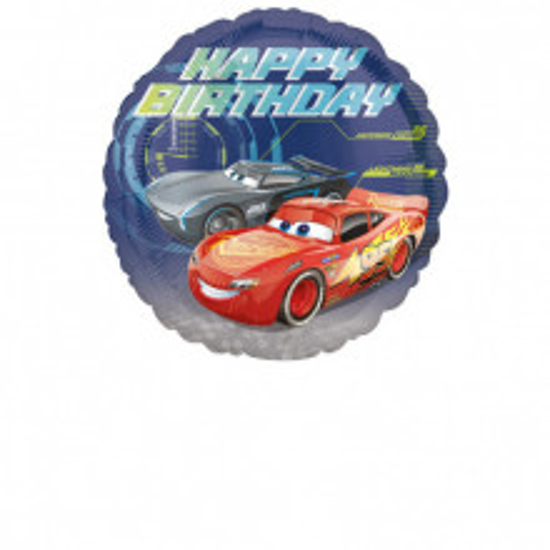 Cars Happy Birthday - folija balon
