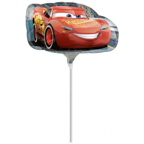 Cars Lightening McQueen - folija balon na štapiću
