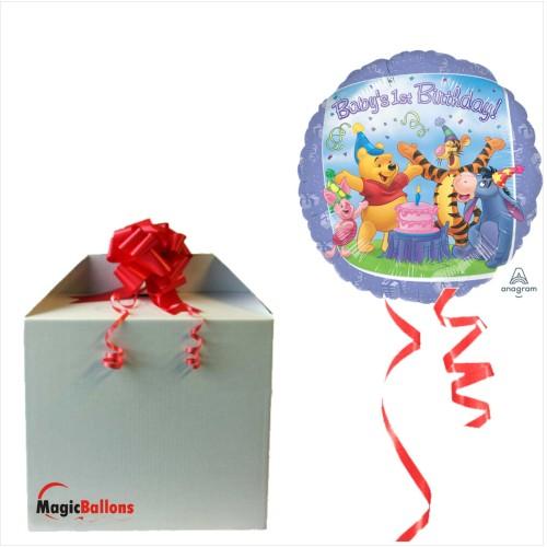 Pooh and Friends 1st Birthday - folija balon u paketu