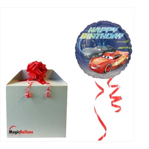 Cars Happy Birthday- folija balon u paketu