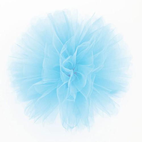 Puff Pom lampion  til - svijetlo plava