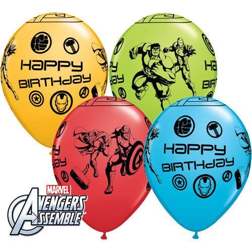 Balon Marvel Avengers Bday