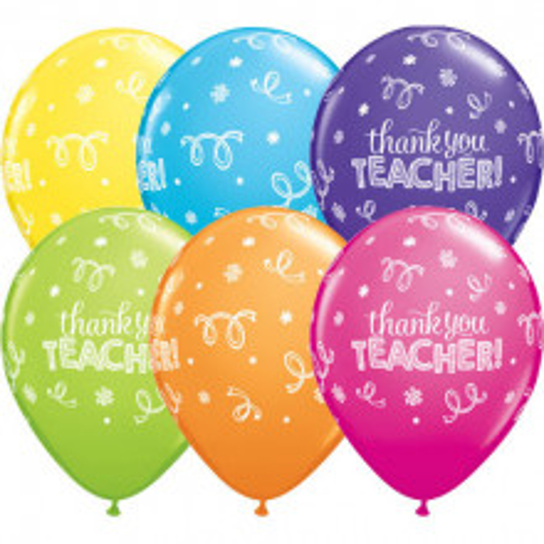 Balon Thank you teacher
