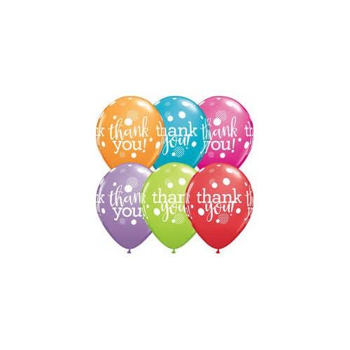 Balon Thank you dots upon dots
