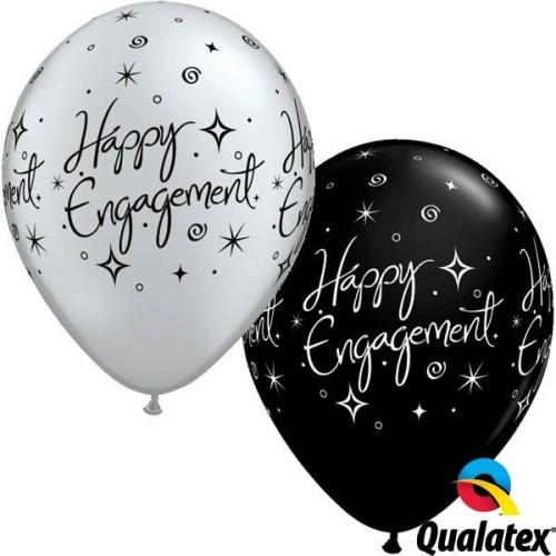 Balon Engagment Elegant Sparkles