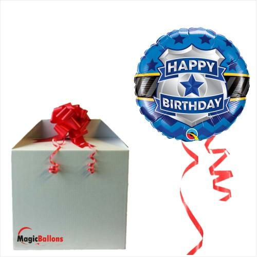 Bday badge - folija balon u paketu