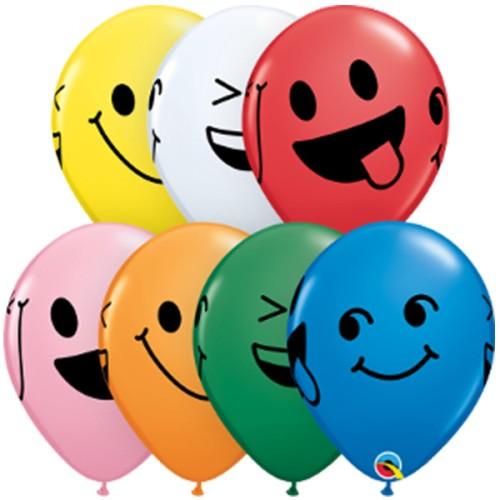 Balon Smiley Faces