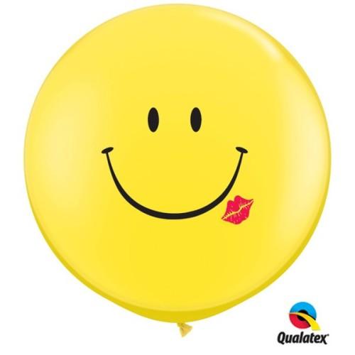 Balon Smile & Kiss 90 cm