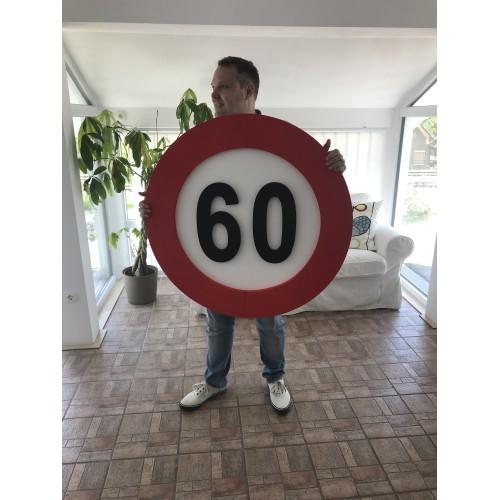 Prometni znak ukras 60 - XL