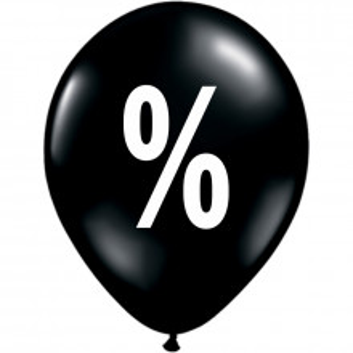 Balon Black Friday
