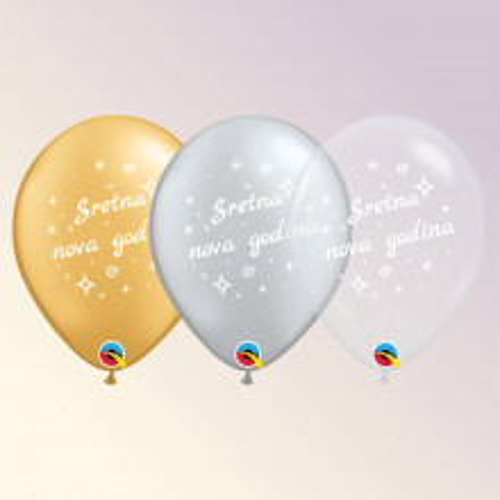 Balon Sretna nova godina