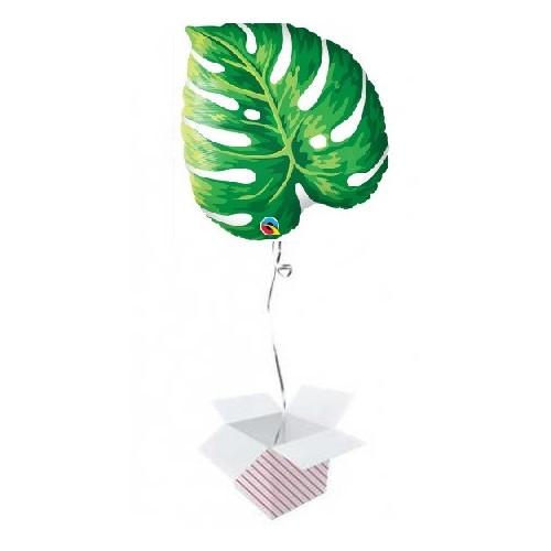 Tropical Philodendron napihnjen folija balon