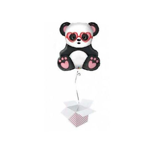 Lovestruck Panda Bear napihnjen folija balon
