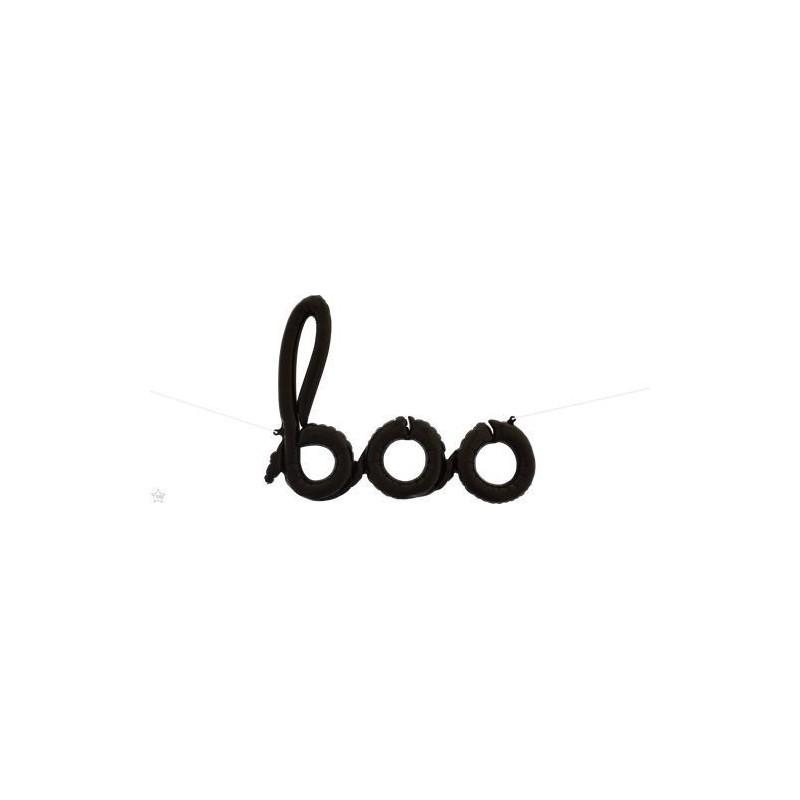 Boo folija balon - crna