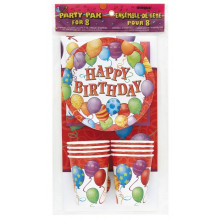 Happy Birthday Balloons- komplet