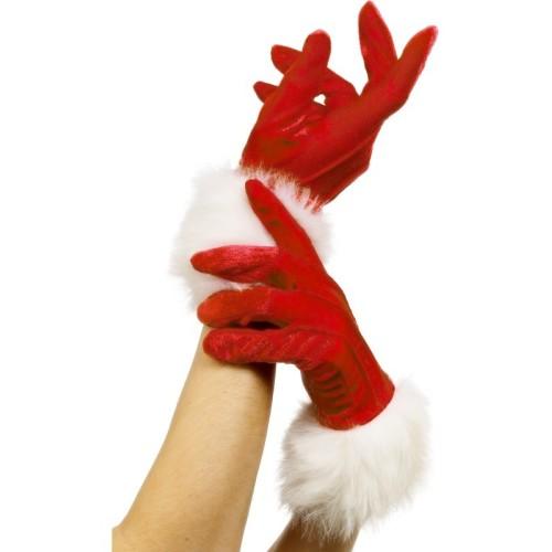 Božičkove rokavice -dolge