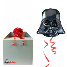 Darth Vader Helmet - foil balloon in Paket