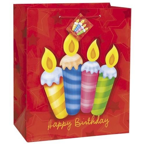 Birthday Surprise darilna vrečka zelena