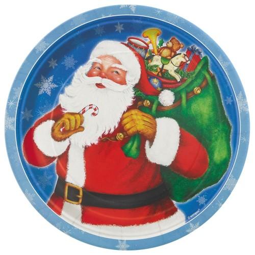 Krožniki Night Before Christmas