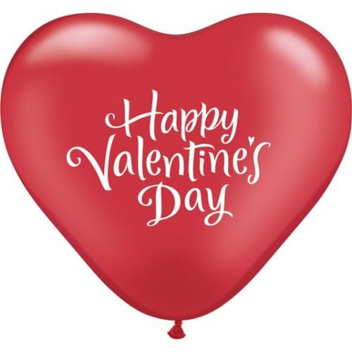 Balon Valentine's Heart Script