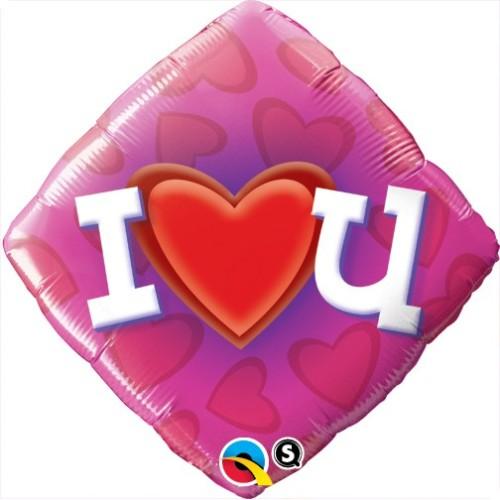 Love Heart U - folija balon