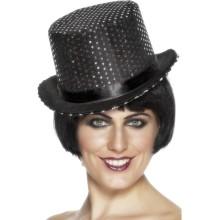 Črni cilinder - klobuk